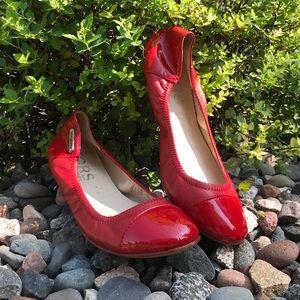 Michael Kors Erin Crimson ballet flat shoes